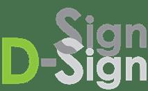 Sign D-Sign – Ontwerpen en printen van logo's, beletteringen, reclameborden Logo